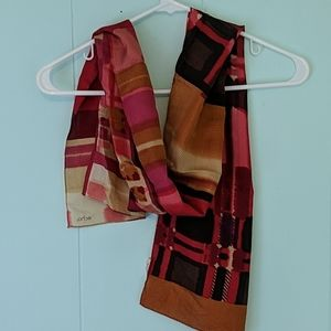 Echo Red Scarf